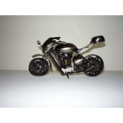 MOTOCYKL METALOWY, 20 CM