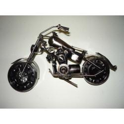 MOTOCYKL METALOWY, 25x13 cm