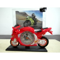 ZEGAR-MOTOCYKL Z RAMKĄ 22 CM