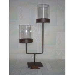 LAMPION METALOWY 36 CM