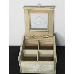 HERBACIARKA 18x14x10 CM (BOX 24 SZT)