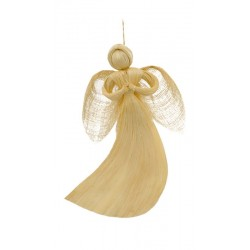 Anioł Z Włókna Abaca Wiszący