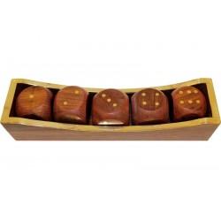 Pudełko Z Kostkami Do Gry 4X21,5X5,5Cm (2)