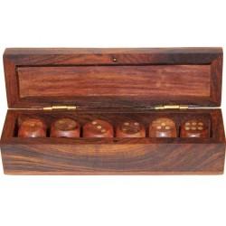 Pudełko Z Kostkami Do Gry