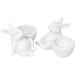 Figurka Ceramiczna-Królik