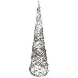 Art. Dekoracyjny Wiklinowe Drzewko Led