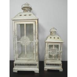LAMPIONY METALOWE 48/30 CM- KPL/2